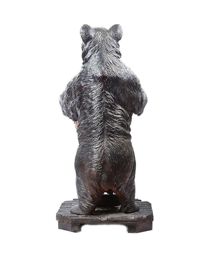 Lot 1 - NINETEENTH CENTURY BLACK FOREST BEAR UMBRELLA STAND