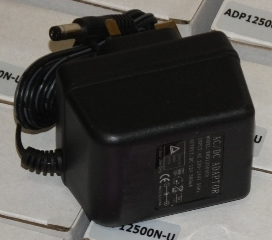 Lot 23 - 78x 240V to 12V DC adapters
