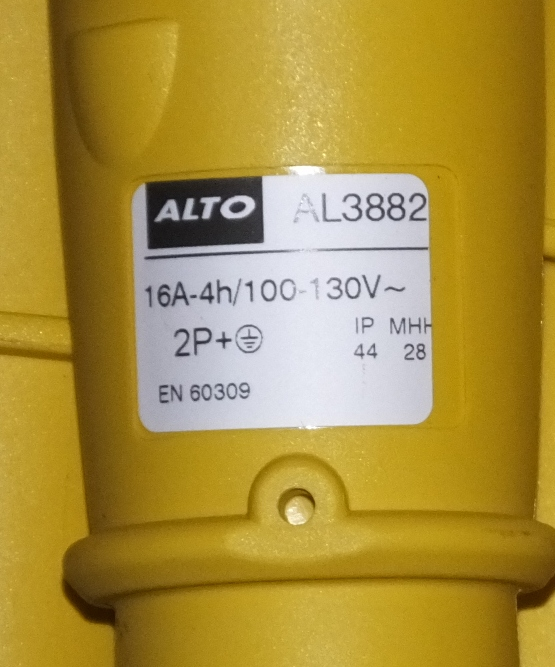 Lot 32 - 9x Alto AL3882 Three Pin Sockets, 1x 14 Pin Commercial Trailer Lead