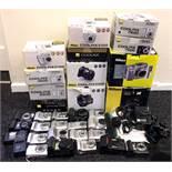 Quantity of Nikon Coolpix Compact & Bridge Digital Cameras.