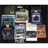 A Good Collection of Nikon Books.