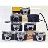 Group of Kodak Cameras, inc Retinette etc.