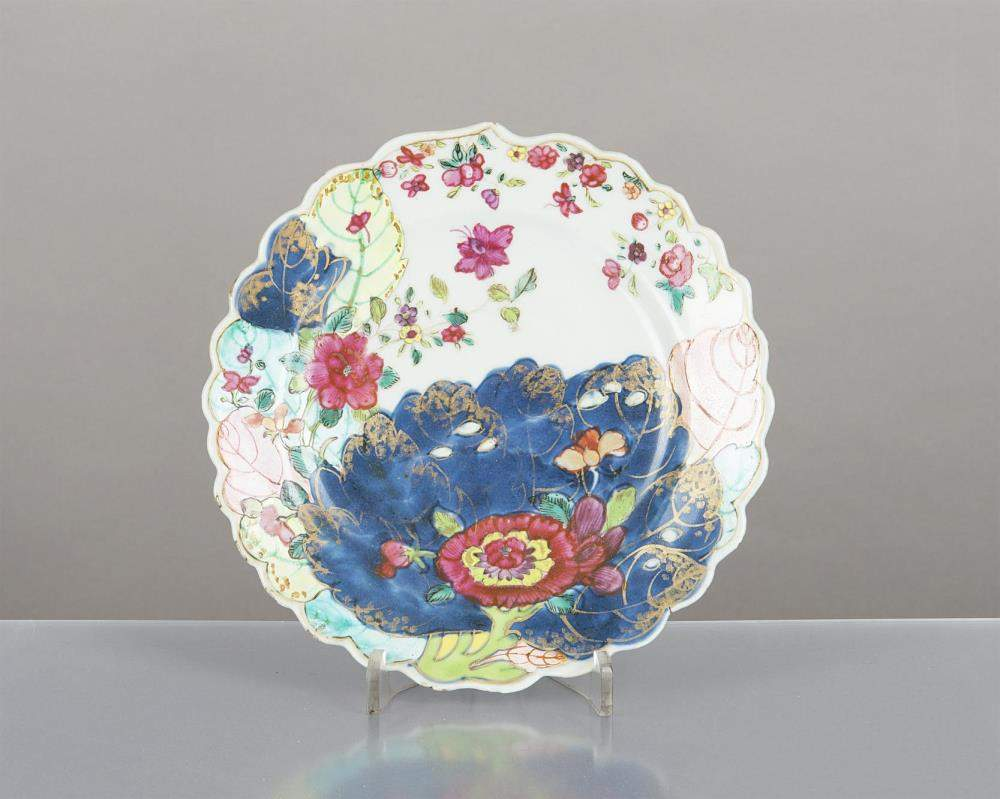 Assiette en porcelaine de chine de la compagnie des indes for Assiette de decoration