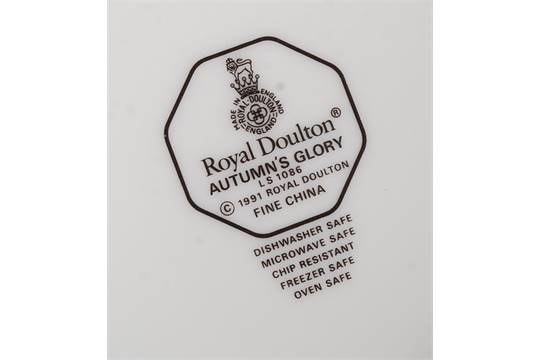 "UNUSED ROYAL DOULTON  /""AUTUMN GLORY/"" LS 1086 TEA CUP"
