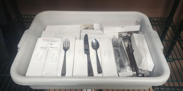 Lot 14 - Approx. 72 Sets of Unused Dudson Cutlery