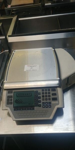 Lot 2 - Hobart Digital Scale with Printer