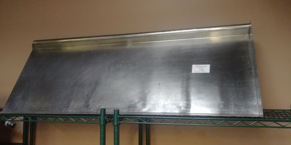 "Lot 56 - Approx. 60"" Stainless Steel Dish Drying Shelf"
