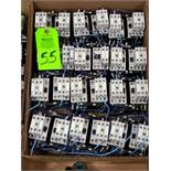 Large Qty of assorted Siemens contactors.