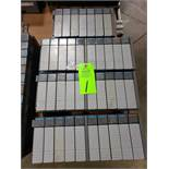 Qty 4 - Allen Bradley SLC500 racks with cards as pictured.