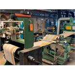 "AETEK AWRIS 22"" UV CURING LINE WITH (2) UNITS, (4) UV LAMPS, FIFE GUIDE, S/N: N/A (CI) [RIGGING FEES"