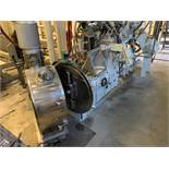 COMPLETE BUSS PR 70 70MM PELLETIZING LINE WITH BUSS (2001) KOKNEADER 70MM CAPACITY 11/1 L/D