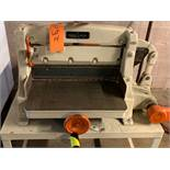 "CHANDLER & PRICE MANUAL GUILLOTINE CUTTER WITH 2.5"" OPENING [RIGGING FEES FOR LOT #14 - $50 USD PLUS"