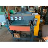 "DUBOIS MACHINE CO SB-24 PANEL SANDER WITH APPROX. 24"" CAPACITY, S/N: 4003 (CI) [RIGGING FEES FOR LOT"