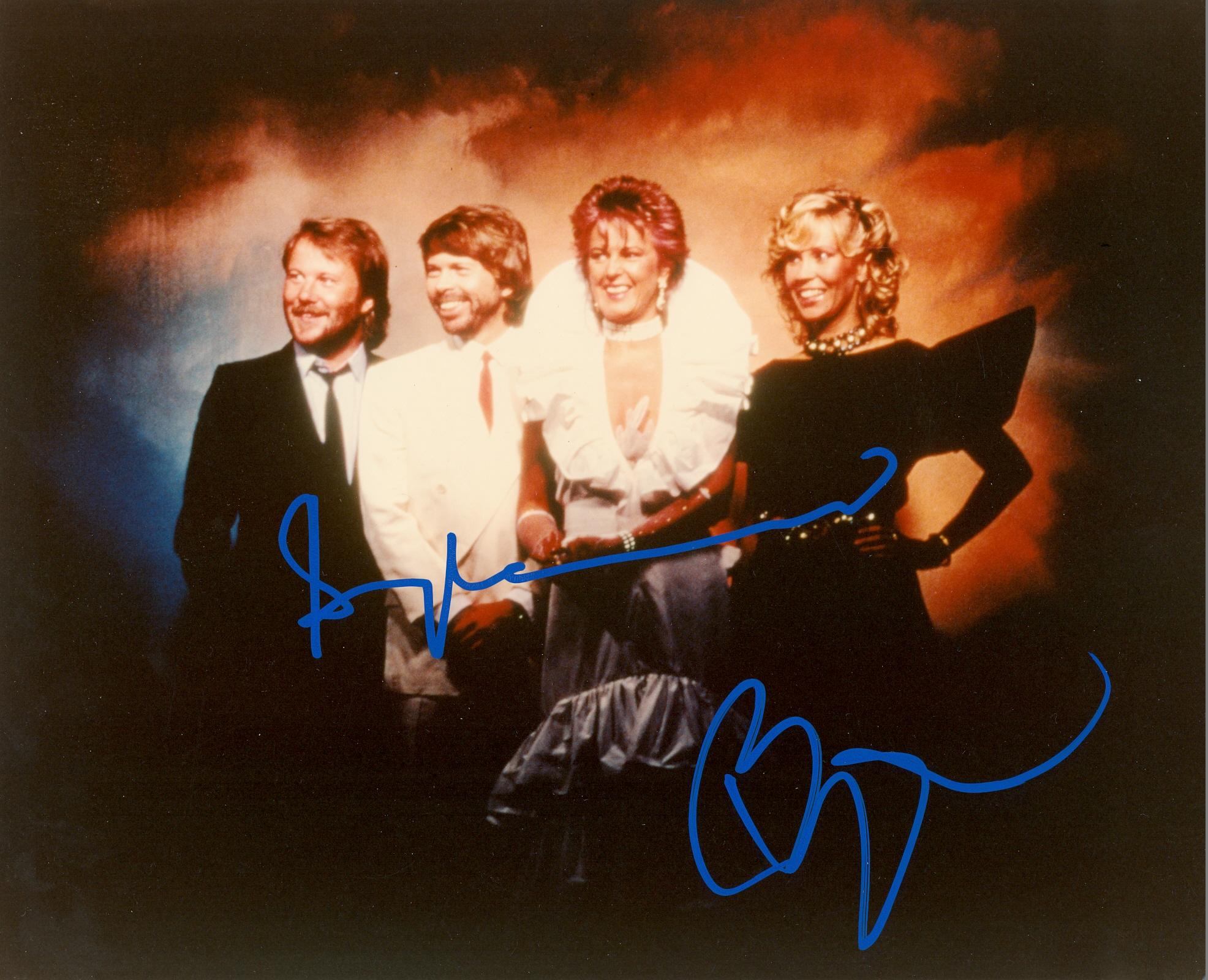 Lot 143 - ABBA: Swedish pop musical group. Colour