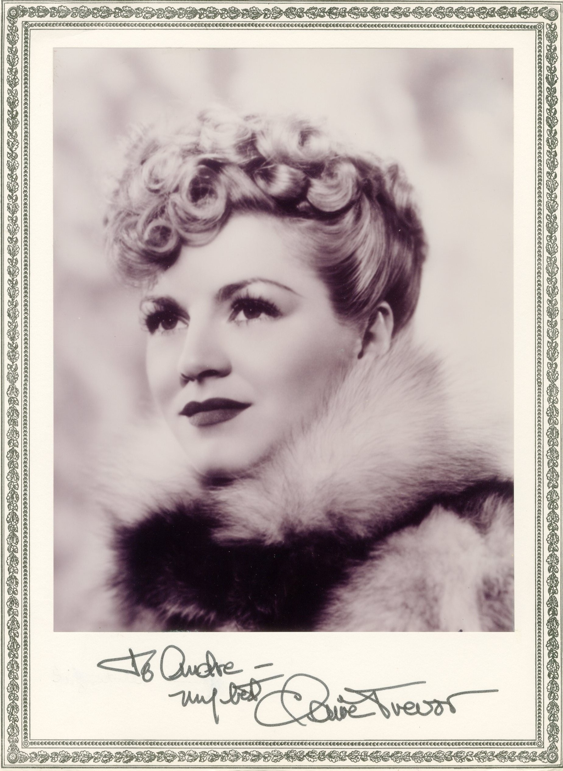 Lot 57 - ACTRESSES: Selection of vintage signed 8