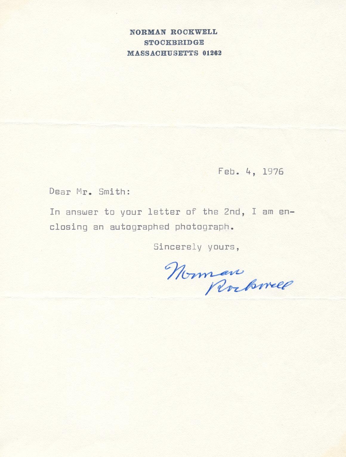 Lot 233 - ROCKWELL NORMAN: (1894-1978) American Pa