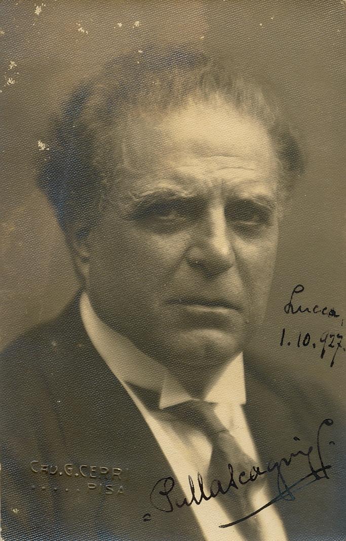 Lot 181 - MASCAGNI PIETRO: (1863-1945) Italian Com