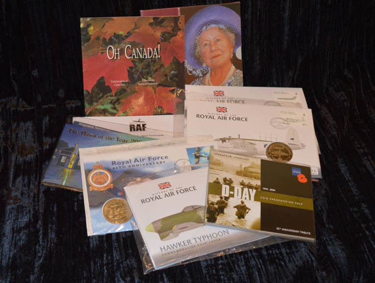 Lot 705 - An Interesting Lot of Commemorative Coin Sets