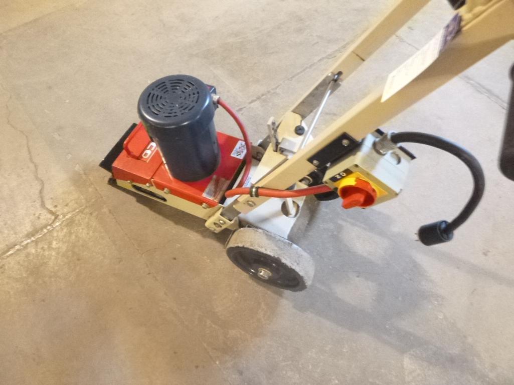 Lot 517 - EDCO TS8 Tile Shark Floor Tile Stripper