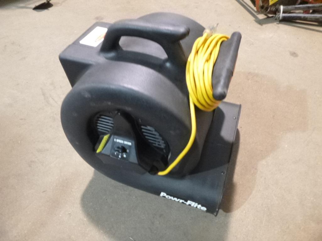 Lot 491 - Power Flite Carpet Blower Fan