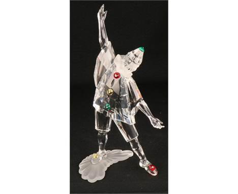 "Swarovski annual item 1999 ""Masquerade"" Pierrot In good condition, complete with original box. Estimate: € 30 - € 80."