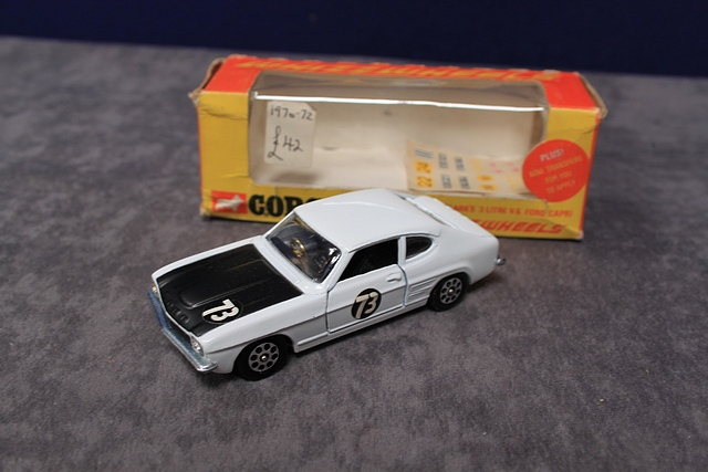 Corgi Whizzwheels Diecast 303 Roger Clark's 3 Litre V6 Ford Capri Number With Very Good Box - Image 3 of 4