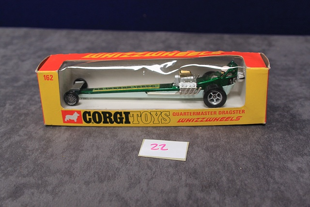 Corgi Whizzwheels Diecast Number 162 Quartermaster Dragster With Crisp Box - Image 2 of 3