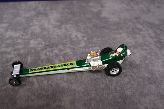 Corgi Whizzwheels Diecast Number 162 Quartermaster Dragster With Crisp Box
