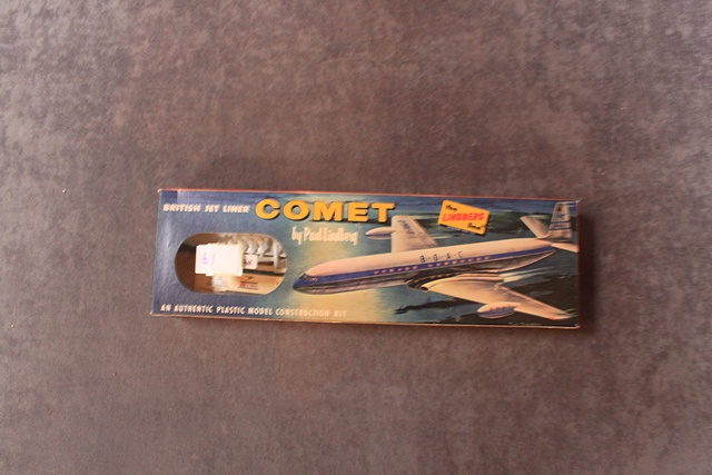 The Lindberg Kit No 455:49 British Jet Liner Comet In Great Unopened Box
