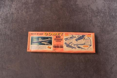 The Lindberg Kit No 455:49 British Jet Liner Comet In Great Unopened Box - Image 2 of 2