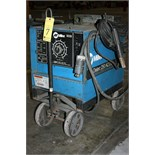 ARC WELDER, MILLER DIALARC 250, 250 amps @ 30 v., 50% duty cycle, sgl. phase operation, running