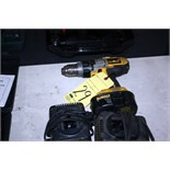 CORDLESS DRILL, DEWALT, w/charger & battery