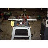 """TABLE SAW, CRAFTSMAN 10"""", tilting arbor, w/stand"""