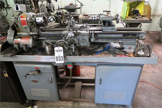10' South Bend Model Cl187Rb Tool Room Lathe