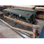 LOT: (2) Sections Hytrol 20 in. x 8 ft. (approx.) Roller Conveyor