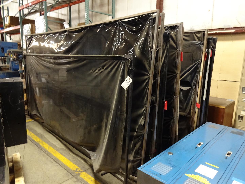 LOT: (13) Assorted Welding Screens