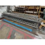 LOT: Assorted 12 in. (approx.) x 10 ft. Long Skate & Roller Conveyors