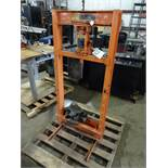 Central Hydraulics 20 Ton Adjustable H-Frame Hydraulic Press
