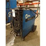 Miller 200 Amp Millermatic 200 CV-DC Arc Welding Power Source/Wire Feeder, S/N KB063734 (1991)