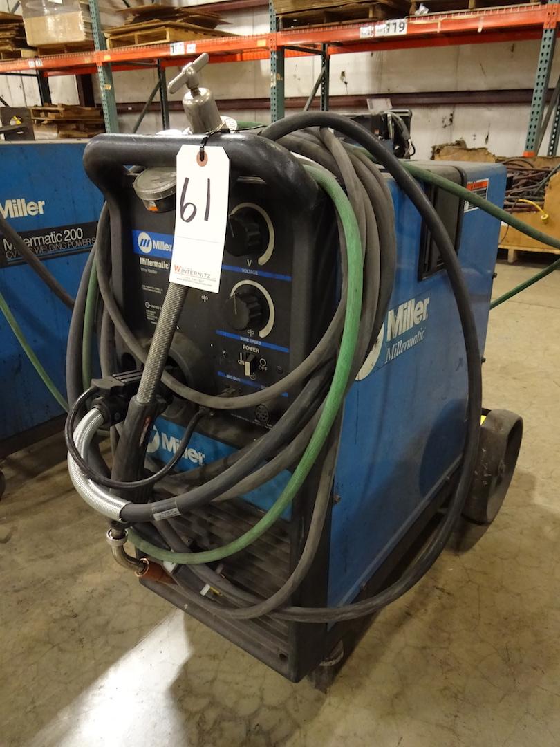 Miller 200 Amp Millermatic 251 Wire Welder, S/N LC274843 (2002)