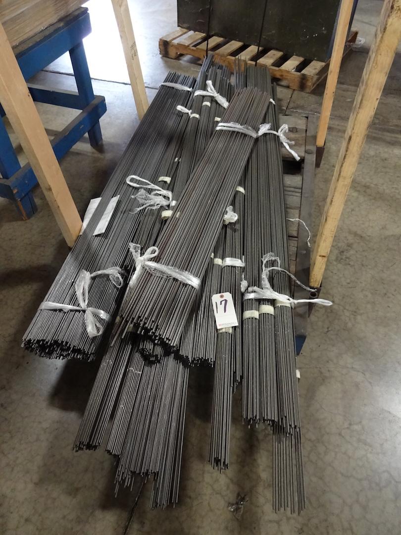 LOT: Assorted Steel Rod