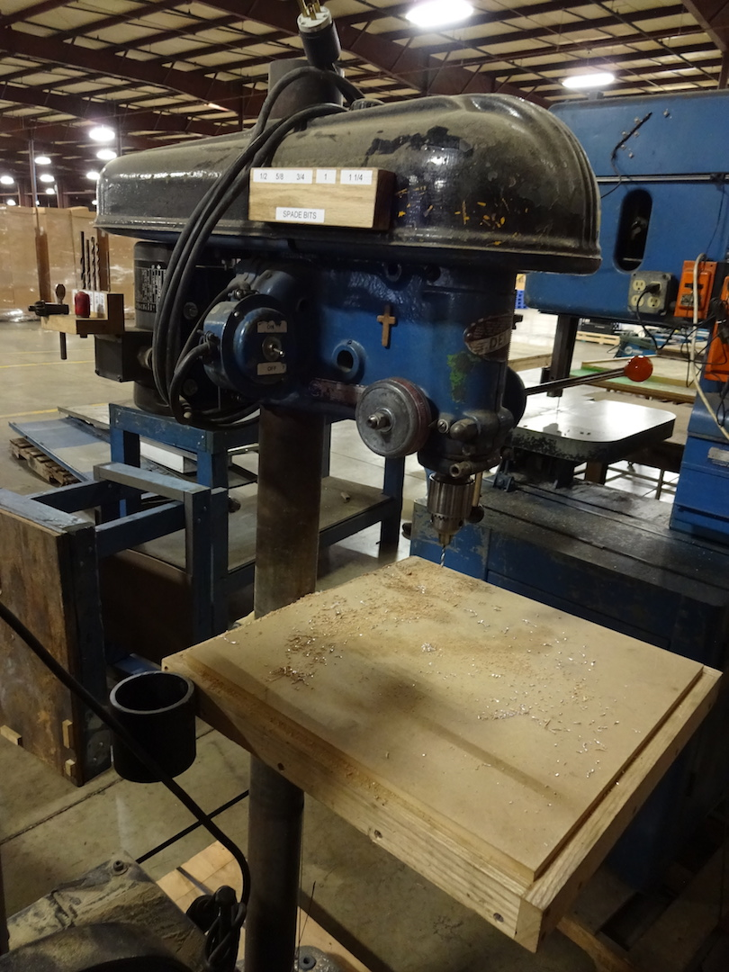 Delta Drill Press, S/N 72-4893 - Image 2 of 2