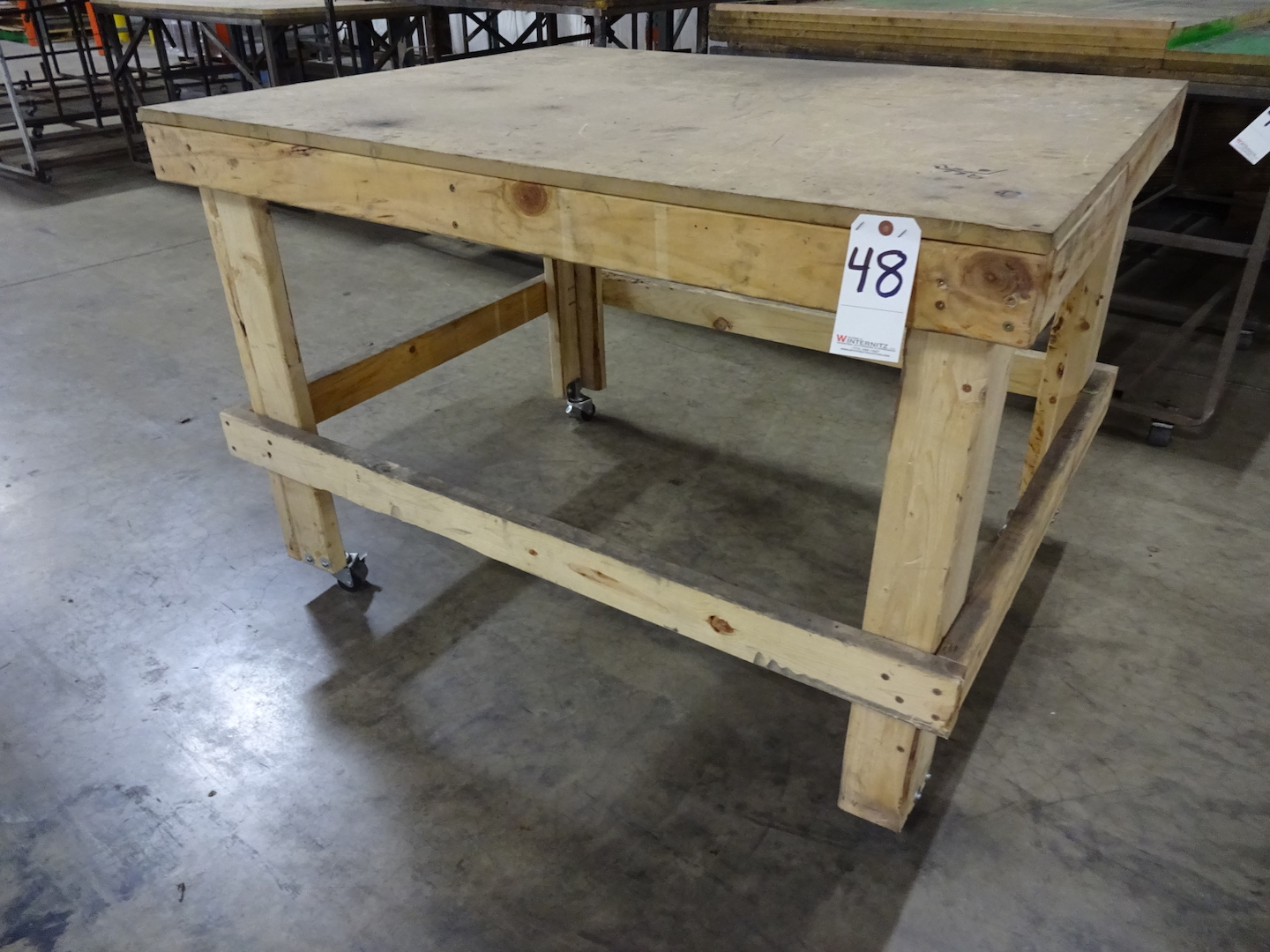 LOT: Assorted Wood Tables