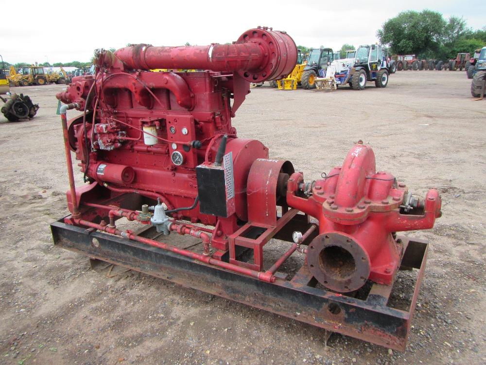 Cummins Engine Driven Water Pump