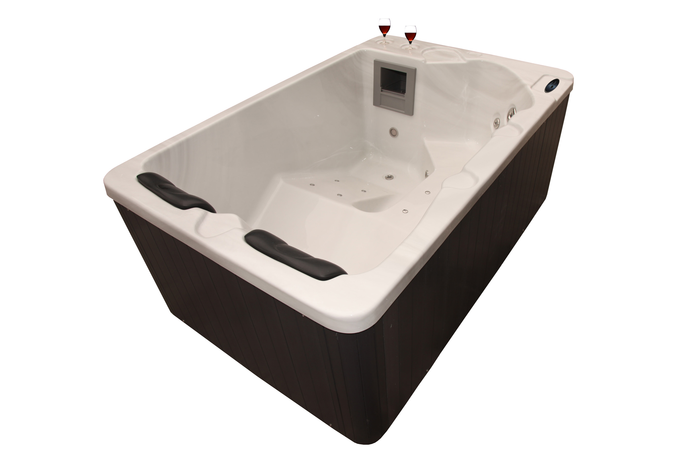 New Packaged 2016 Hot Tub Matching Steps Side