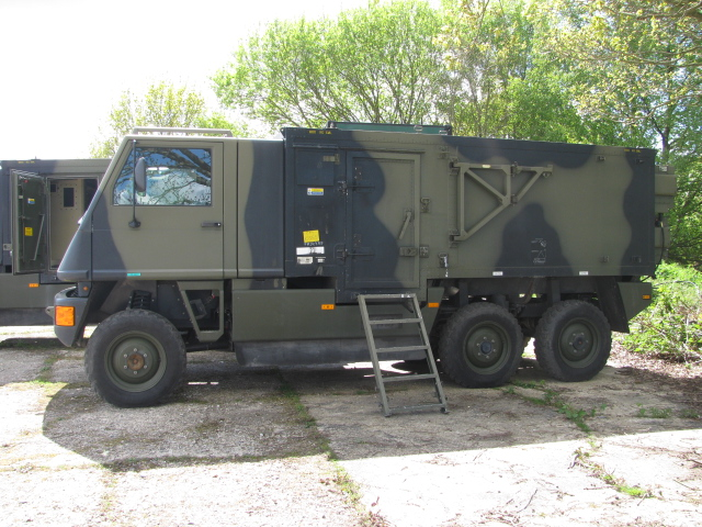 Lot 001 - Bucher Guyer Mowag Duro II 6 x 6 Road legal High Mobility Tactical Vehicle (left hand drive)