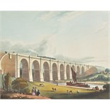 Bury (Thomas Talbot). Coloured Views on the Liverpool and Manchester Railway, with Plates of The