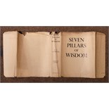 Lawrence (T.E.). Seven Pillars of Wisdom. A Triumph, 1st trade edition, Jonathan Cape, 1935,