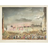 Ackermann (Rudolph). The Microcosm of London; or London in Miniature, 3 volumes, [1808-1810], wood-