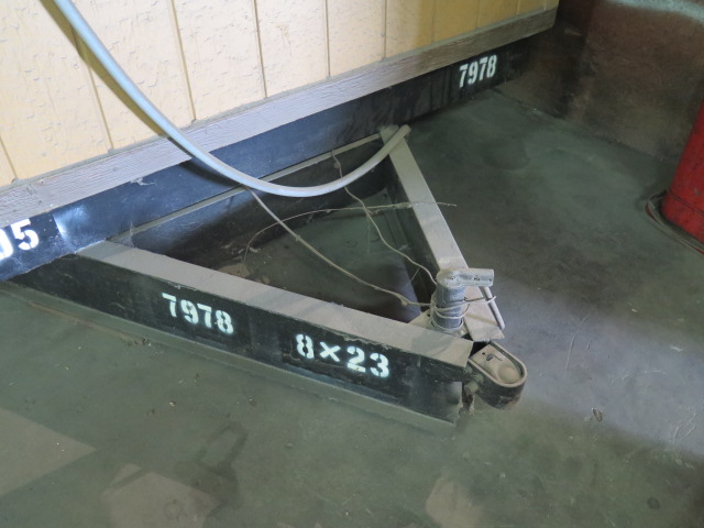 Lot 38 - 1985 OSI 8' x 23' Portable Office Trailer VIN # 109B22011FG017978w/ AC and Heat